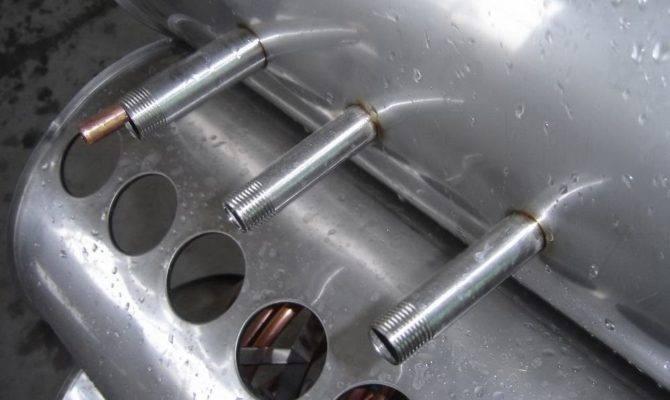 China Copper Heat Pipe Vacuum Tube Solar Collector