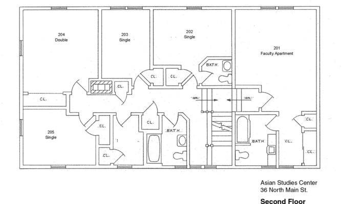 Chinese Language House Floor Plans