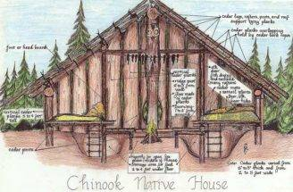 Chinook Native Home Tribes Pacific Northwest