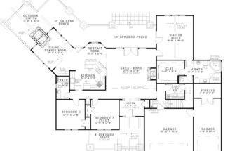 Clancy Creek Rustic Luxury Home Plan House Plans More