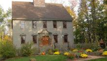 Classic Colonial Home Primitve Homes Settings