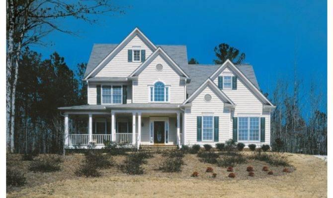 Classic Country Four Bedroom Hwbdo Builderhouseplans