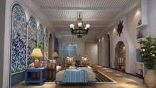 Classic Mediterranean Style Walls Ceilings