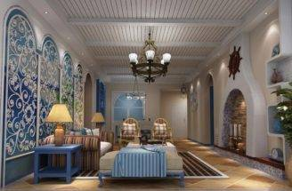 Classic Mediterranean Style Walls Ceilings