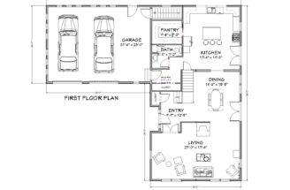 Cod House Plan Square Foot Traditional Cape
