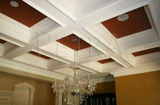 Coffered Ceiling Design Pinterest