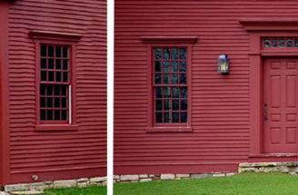 Colonial Homes Windows Doorssaltbox Home Designs Doors