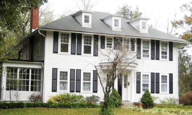 Colonial House Style Montgomery Wards Mail Order Homes