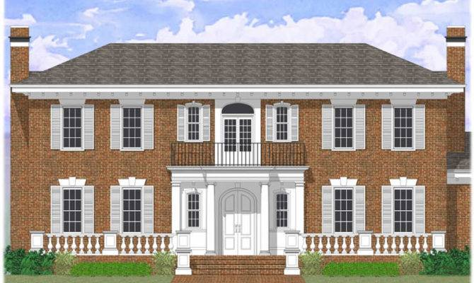 Colonial Revival House Plans