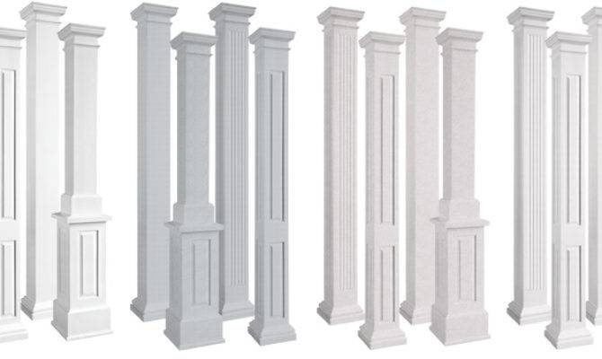 Columns Interior Architectural Decorative