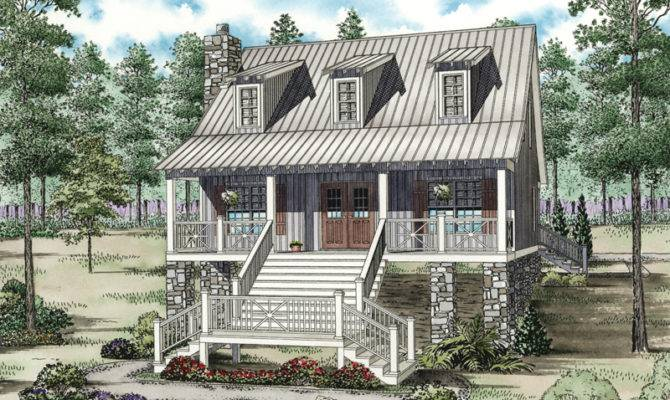 Colwood Vacation Home Plan House Plans More