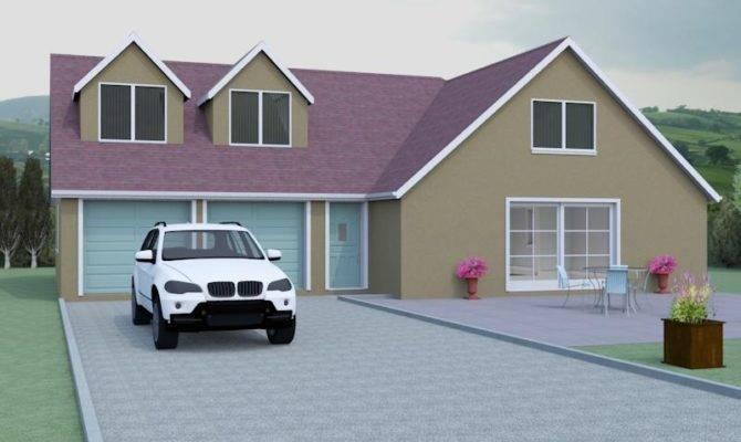 Contemporary Dormer Bungalow Designs Southwick