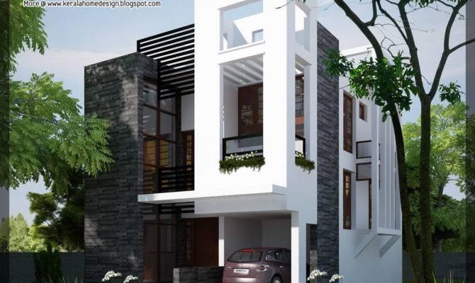 Contemporary Home Kerala Design Floor Plans