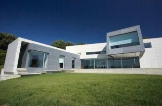 Contemporary Style Concrete House Santander Cero