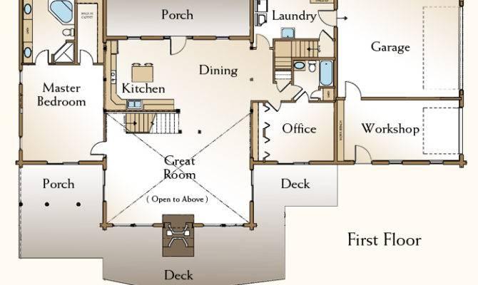 Contemporary Style Monadnock Log Homes