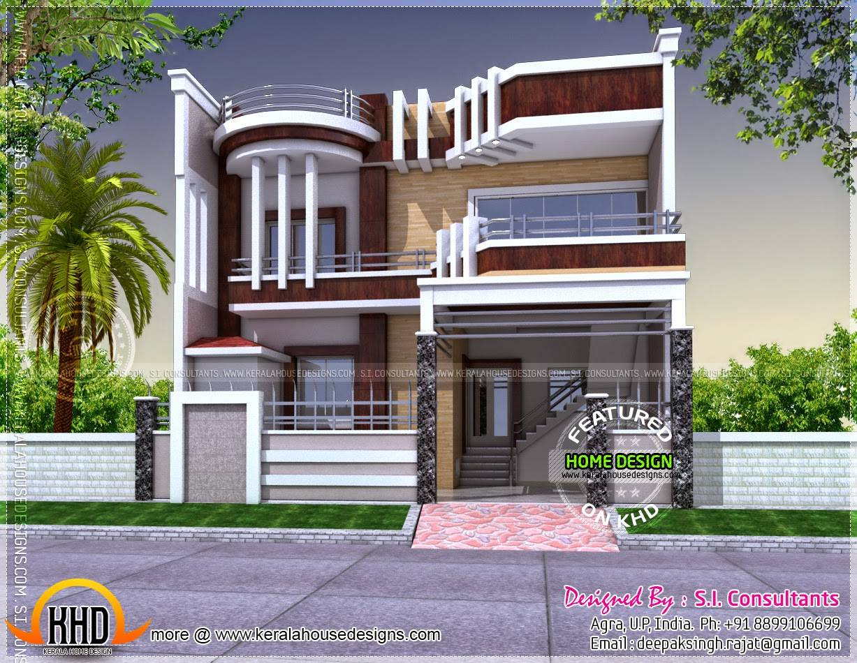 ontemporary unique house plan kerala home design floor home - Unusual Home Designs