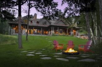 Cottage Style Design Luxury Dark House Architecture