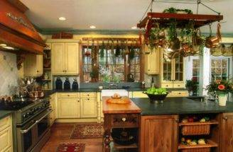 Country Hillbilly Kitchen Farmhouse Tin Ceiling Colors