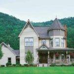 Country Home Designs Spacious Garden Victorian House Styles Classic
