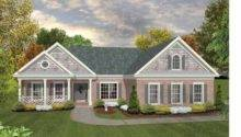 Country House Plan Striking Distinctive Ranch Square