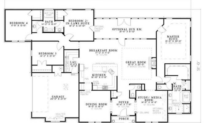 14 Wonderful House Plan With Mother In Law Suite Home Plans