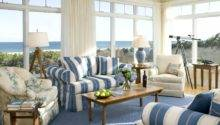 Country Living Room Colored Sofa Couch