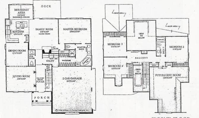 Country Style Home Floor Plans House