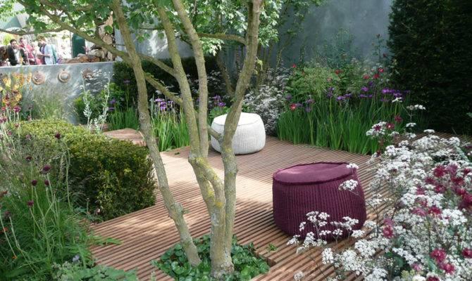 Courtyard Garden Design Plans Very Small Gardens Home