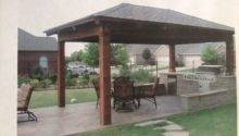 Covered Outdoor Kitchen Bbq Backyard Adventure Pinterest
