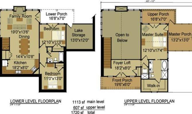 Craftsman Cottage Floor Plan Cheaha Mountain Think Found