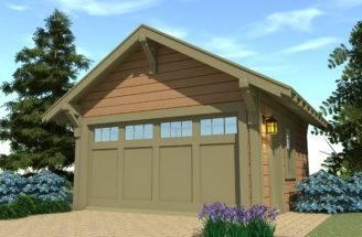 Craftsman Garage Plan Tyree House Plans