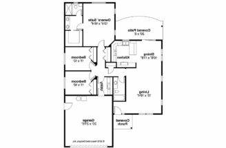 Craftsman House Plan Harlequin Floor