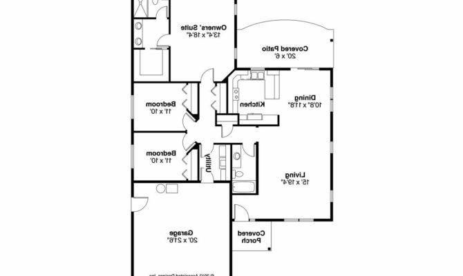 Craftsman House Plan Harlequin Floor