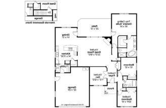 Craftsman House Plan Ridgefield Floor
