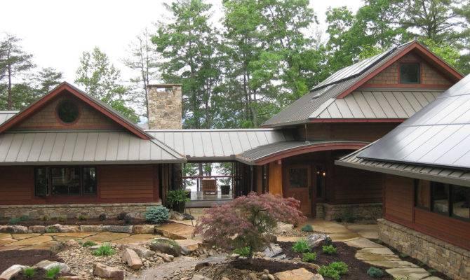 Craftsman Modern Vacation Home Plan Time Build
