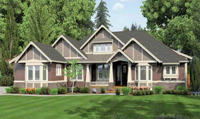 Craftsman One Story House Plans Ever Build New