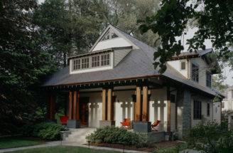 Craftsman Porch Gardner Mohr Architects Llc