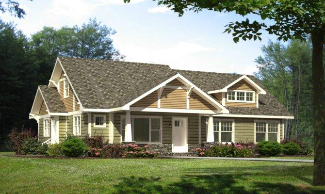 Craftsman Style Manufactured Home House Design Ideas