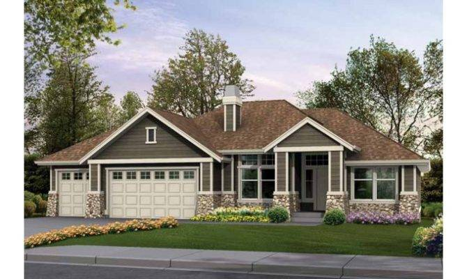 Craftsman Style Rambler Home Plans Eplans House Plan