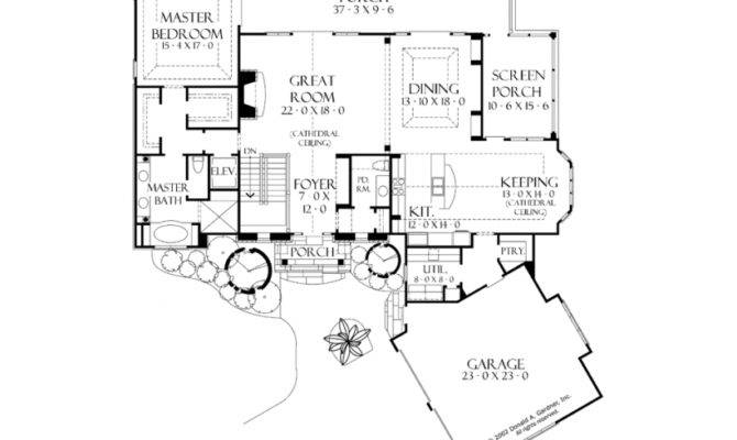 Craftsman Walkout Basement Home Square Feet Bedrooms
