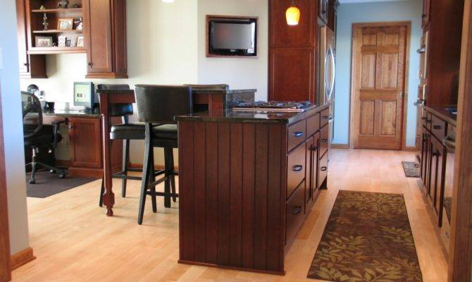Creating Open Kitchen Carmel Wrightworks Llc