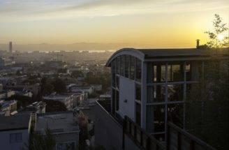 Creative Modern Hillside House San Francisco Spectacular Views