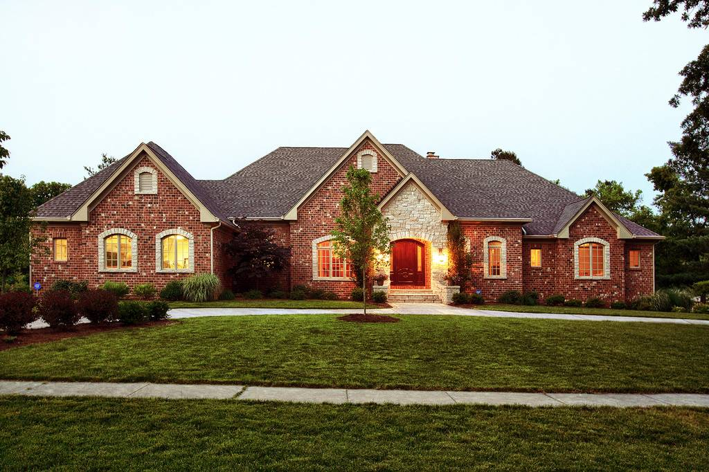 Custom ranch home pictures