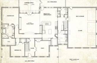 Custom Home Designs Floor