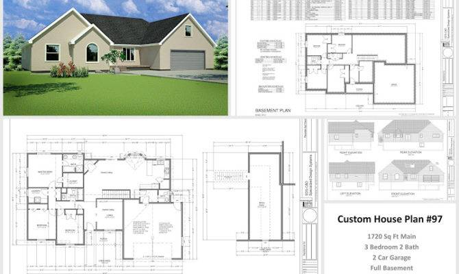 Custom Home Plans House