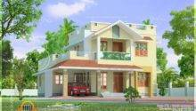 Cute Little Two Storied Home Design Kerala Floor