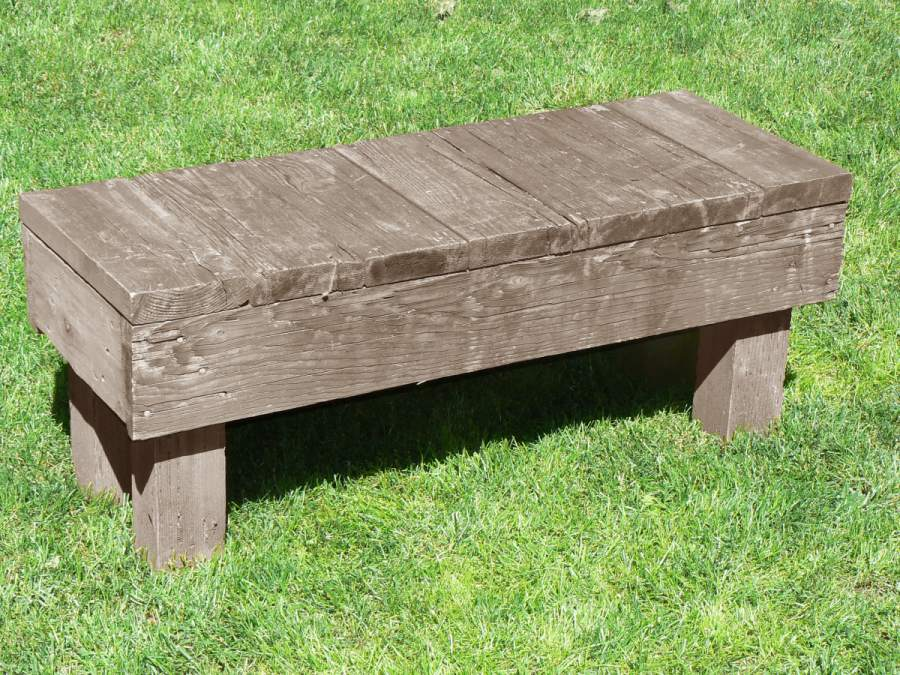 Deck Bench Plans Building Benches