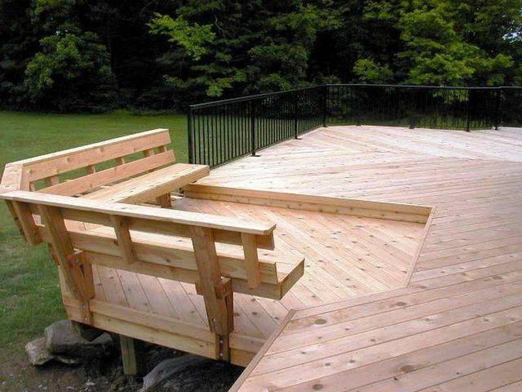 Deck Bench Plans Lifestyle Ideas