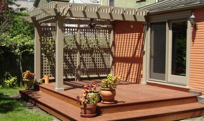 Deck Designs Pinterest Low Ground Level Wood