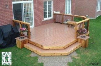 Deck Plan Medium Low Single Level